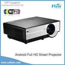 High Performance native with bluetooth dunction home theater wxga hd android wifi projector