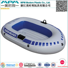 2-Person Inflatable Boat Set with Oars and Mini Air Pump