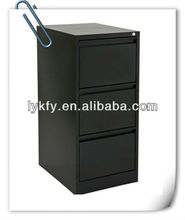 KFY-B-03 Office Vertical Black Chest Of Drawers
