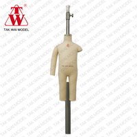 Factory Price realistic 68cm height baby full body mannequin mold
