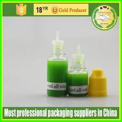 green eye drop bottles 15 ml pet e liquids child proof and tamper ring