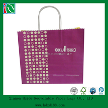 2013 Twist handle Laminated Paper Carrier Bags