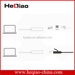 3 Ports USB 2.0 Hub USB 2.0 Network LAN Card Ethernet Adapter