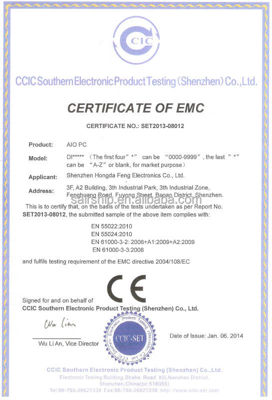 ultra slim hot sell barebone pc/all in one pc with intel 4th i3 | i5 | i7 CPU OEM 18.5'' 21.5'' 23.6''
