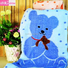 KLM-321 baby children use heat blanket high quality 100% cotton towel for bedroom
