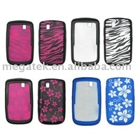 Cell phone case phone accessories Colorful Silicon Skin case for Blackberry bold 9700