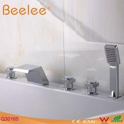 5 holes deck mounted tub filler
