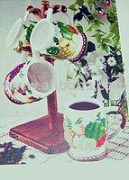 Tropicale' Fruit Paradise 5 Piece Tea & Coffee Mug Set