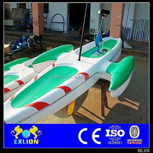 Good quality and cheap price water bike pedal boats