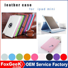 360 Degree Rotating Stand Case With Auto Sleep/wake Feature Leather Case For IPad Case , For Ipad Air Case , For Ipad Mini Case