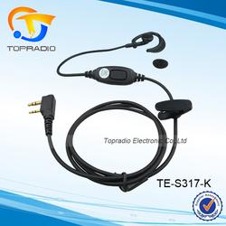 Topradio Two Way Radio Walkie Talkie Ear Hook Headset For KYD/Kydera:NC-950A TK-700A NC-6188 NC-6388 TK-688A NC-630A TK-750A etc