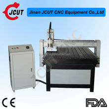 High quality 1325 router with square orbit/Ncstudio control/dust collector wood cnc router prices