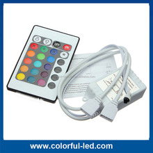 24 keys infrared rgb led controller