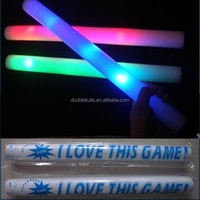 Promotional light up party cheering foam sticks universal christmas gifts