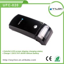 standard battery use automotive color lcd ac lead acid battery charger