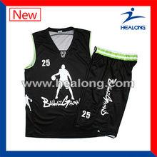 2013 diseño de baloncesto jersey uniforme