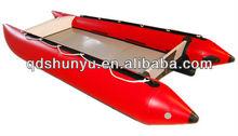 double-side PVC 3.3m zapcat boat for sale