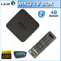 newest MXQ iptv box LW H265 XBMC 1.5GHZ wifi android 4.4 android Amlogic S805 quad core google android tv box MXQ