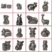 Children's gifts animal shape metal money box / cow piggy bank