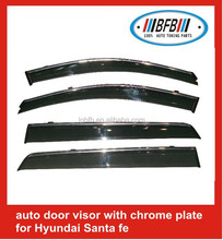 Sun Visor Rain Visor car window visor 4x4 accessories for SANTAFE 2010