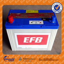 Dry charged battery 12v45ah Lower capacity battery OEM brand