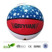 PU TPU PVC rubber basketball whole sale blank basketball