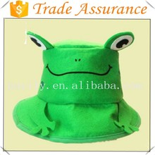 new style fashion frog animal hat children felt hats cute cheap hat