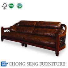 home leather solid wood Lorenzo Sofa Malaysia