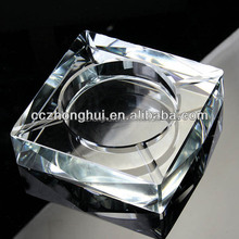 Promotional Clear Crystal Ashtray For Father's Day