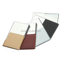 5 Colors Stainless Steel Semi-open Business Driver ID Credit Card Holder Protector Case Gift New