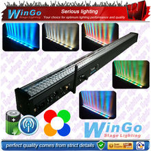 WG-G3032A rechargeable battery powered strip light/battery powered flashing lights/4 show grids on the light