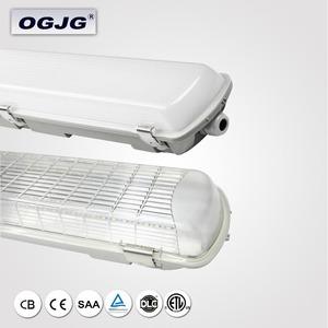 Крытый магазин профессиональной IP65 DLC холодной сторге водонепроницаемый свет софитов установки Автостоянка Garage 4 фута LED tri-доказательство свет