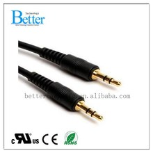 2015 new coming 2.5 male to 3.5 female audio cable