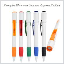 Top selling good quality 2014 plastic led light ball pen