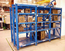 Factory Price Storage Drawer Mold Racking System,Heavy Duty Metal Rack