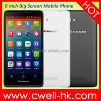 Original China Brand Lenovo A889 Phablet 6 Inch 3G Smartphone Android 4.2 MTK6582 Quad Core 8GB ROM 8MP Camera WIFI GPS Unlocked
