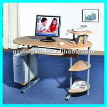 Home/Office Furniture Design Wooden Laptop Computer Table with Shelf (DX-006)