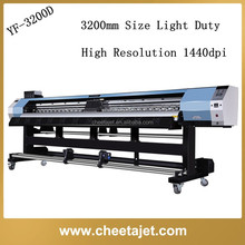 126inch easy operating wide format sticker/poster/banner printer machine with dx5 dx7 printhead