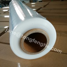 China supplier 15/17/20mic LLDPE wrap film stretch packaging materials