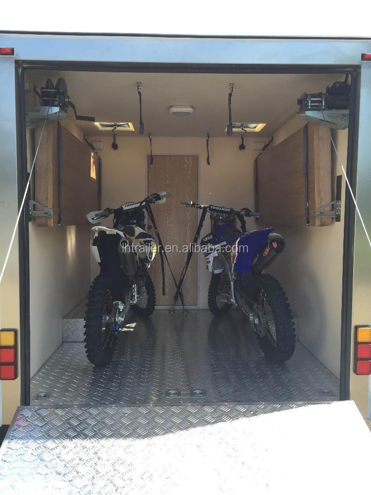 Toy Hauler caravan trailer