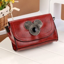 Stylish Women Fashion Synthetic Leather Chain Shoulder Bag Handbags SV021569