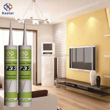 Foshan Manufacturer Acetic 100% Silicone Sealant Kastar733