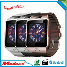 New Product 2015 dz09 Smart Watch Android Smart Watch for Apple Smart Watch Phone China Manufacturer