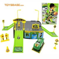 plastic toy set , Ben10 toy , parking toy