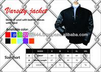 biker varsity jacket/yamaha varsity jacket/kawasaki varsity jacket