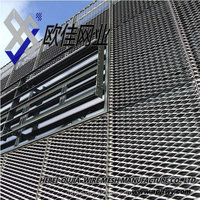 expanded wire mesh fence(anping factory supply)