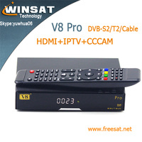 twin tuner openbox V8 pro ali 3601 full hd satellite receiver DVB-S2/T2/Cable iptv set top box better than cloud ibox 3