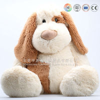 battery operated cartoon plush stuffed animal dog toys for puppies