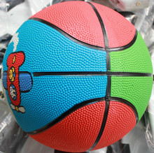 colorful kids small rubber basketball ball for children