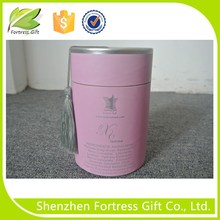 pink cosmetic packaging paper core tube